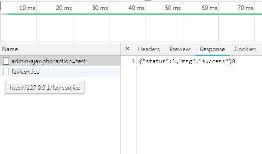 WordPress钩子为admin-ajax.php注册接口实现前端交互