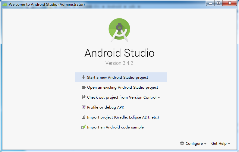 Android Studio配置Android SDK环境