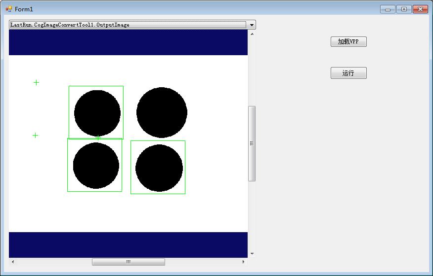 VisionPro图像显示控件CogToolDisplay简单使用
